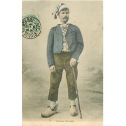 01 BOURG-EN-BRESSE. Costume Bressant 1906
