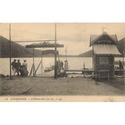 88 GERARDMER. Bateaux automobiles à l'Embarcadère du Lac 1918