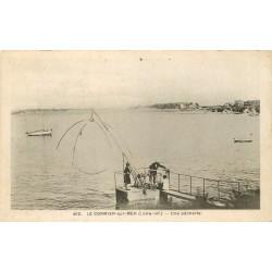 44 LE CORMIER-SUR-MER. Une Pêcherie avec carrelets 1948