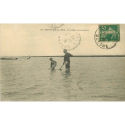 50 SAINT-PAIR-SUR-MER. La Pêche aux crevettes 1918