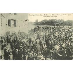58 NEVERS. Seigneurs et Pages cortège historique de Jeanne d'Arc en 1909