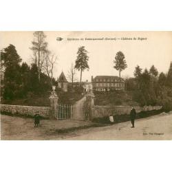 23 BOURGANEUF environs. Château de Rigour