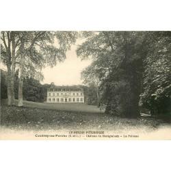28 COUDRAY-AU-PERCHE. Château de Montgraham et sa Pelouse