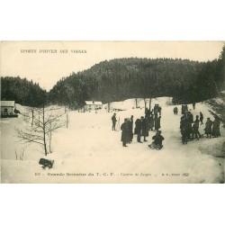 88 SPORTS D'HIVER DES VOSGES. Course de Luges à la grande Semaine du T.C.F 1918