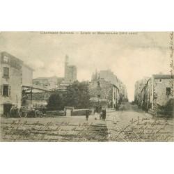 63 MONTFERRAND. Animation à l'Entrée de la Ville 1903