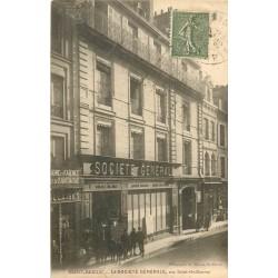 22 SAINT-BRIEUC. Banque Société Générale rue Saint-Guillaume 1925