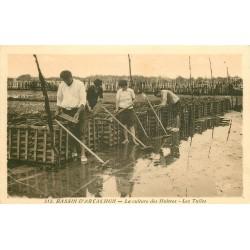 33 ARCACHON. Les Tuiles pour la culture des Huîtres