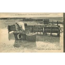 17 CHATELAILLON. Les Boucholeurs et les réservoirs d'Huîtres