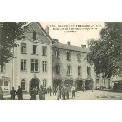 63 CLERMONT-FERRAND. Militaires à l'Hôpital temporaire Richelieu 1933