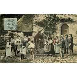 METIERS. Un Charlatan au Village 1906