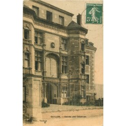 27 GAILLON. Entrée des Casernes 1907
