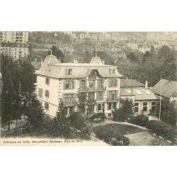 SUISSE. Clinique du Crêt à Neuchâtel 1922