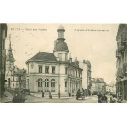 01 BOURG. Hôtel des Postes Avenue Alsace-Lorraine 1915
