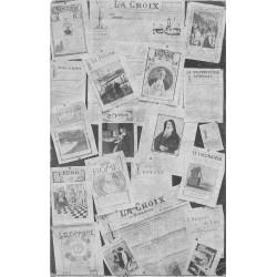 PUBLICITES PARIS VIII. Le Journal La Croix maison de la Presse au 5 rue Bayard
