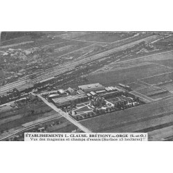 91 BRETIGNY SUR ORGE. Magasins et champs d'essai Etablissements Clause 1933