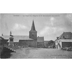 63 AVEZE. Monument aux Morts sur la Place de l'Eglise 1927