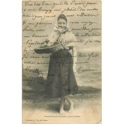 22 SAINT BRIEUC. Petite Pêcheuse de Cesson 1904
