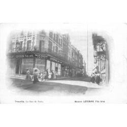 14 TROUVILLE. Maison Lefevre Rue de Paris