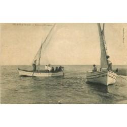34 VALRAS-LA-PLAGE. Bateaux Pêcheurs 1914