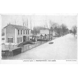 95 ARGENTEUIL. Inondations et Crue de 1910. Les Quais