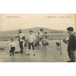 14 HOULGATE. La Pêche à l'Equille 1917. Pêcheurs et Crustacés