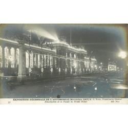 PARIS. Exposition Automobile 1907 Illumination du Grand Palais