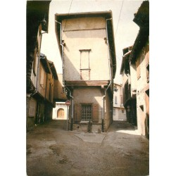 Photo Cpsm Cpm 81 LABRUGUIERE. Vieille Rue Camille Doucet 1987