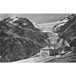 Photo Cpsm Cpm SUISSE. Bahnhof Restaurant Alp Grüm 1956