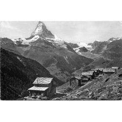 Photo Cpsm Cpm SUISSE. Findelen 1954