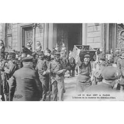 75 PARIS X°. L'Entrée de la Caserne du Château d'Eau en 1907