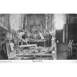 77 BARCY. L'Eglise bombardée et détruite 1915