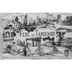 02 FERE-EN-TARDENOIS. Multivues 1934