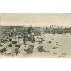 17 Fouras-les-Bains. La Pêche aux Congres sur la Pointe de la Fumée