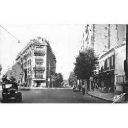92 CLAMART. Bar et voitures anciennes Carrefour de la Fourche 1955