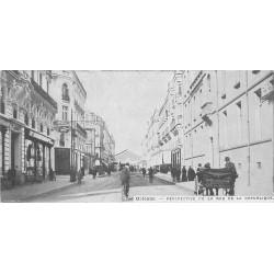 45 ORLEANS. Rue République. Carte miniature 13.5 x 6.5 cm