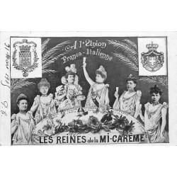 Les Reines de la mi-carême à l'Union Franco-Italienne 1905