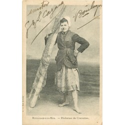 62 BOULOGNE-SUR-MER. Pêcheuse de Crevettes 1905