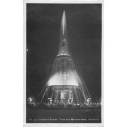 LACHAUX-DE-FONDS. Fontaine Monumentale illuminé