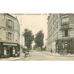 93 BAGNOLET. Hôtel et Pâtisserie Avenue du Centenaire 1916