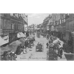 41 ROMORANTIN. Le Marché sur la Grande Rue 1905