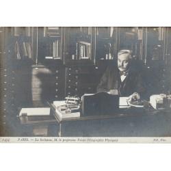 75 PARIS. La Sorbonne et le Professeur Velain. Géographie Physique