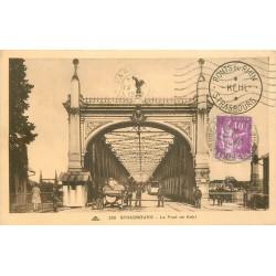 67 STRASBOURG. Douaniers sur le Pont de Kehl 1939