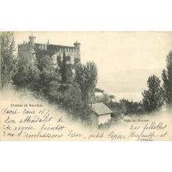 73 LAC DU BOURGET. Château de Bourdeau 1901