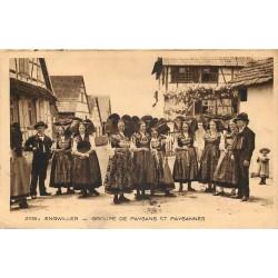 67 ENGWILLER. Paysans et Paysannes en costume local 1931