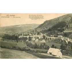 15 FONTANGES. Vue sur le Village 1914