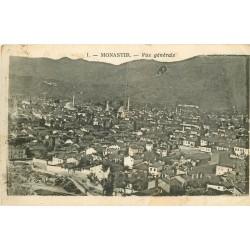 TURQUIE. Vue générale sur Monastir 1918