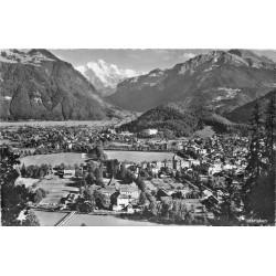 INTERLAKEN. Totalansicht mit Jungfrau 1957