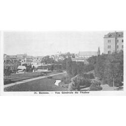 35 RENNES. Vue générale du Thabor. Carte mignonette 13.3 x 7 cm