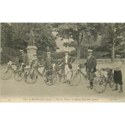 41 BLOIS. Bicyclettes fleuries à la Fête des Fleurs