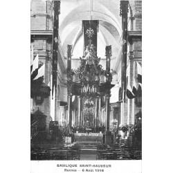 35 RENNES. L'Autel de la Basilique Saint-Sauveur avec ses Orgues
